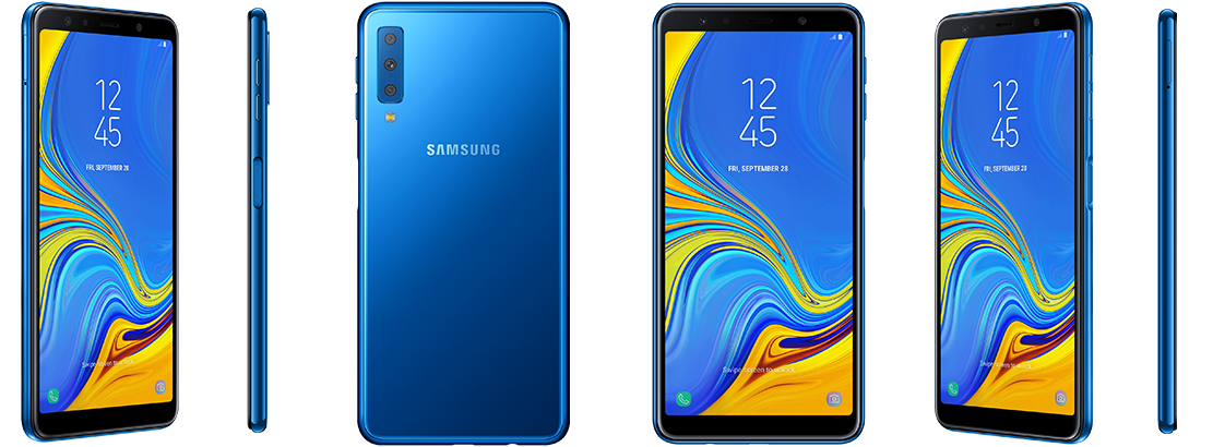 Samsung Galaxy A7 with Triple Rear Cameras Launched in India