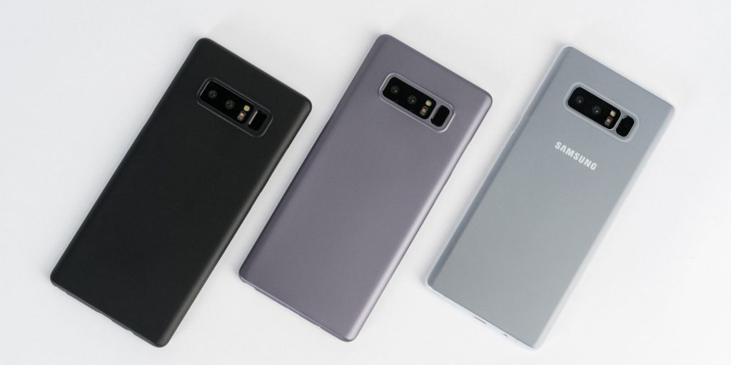 Samsung Galaxy Note 8 Starts Receiving Software Update with