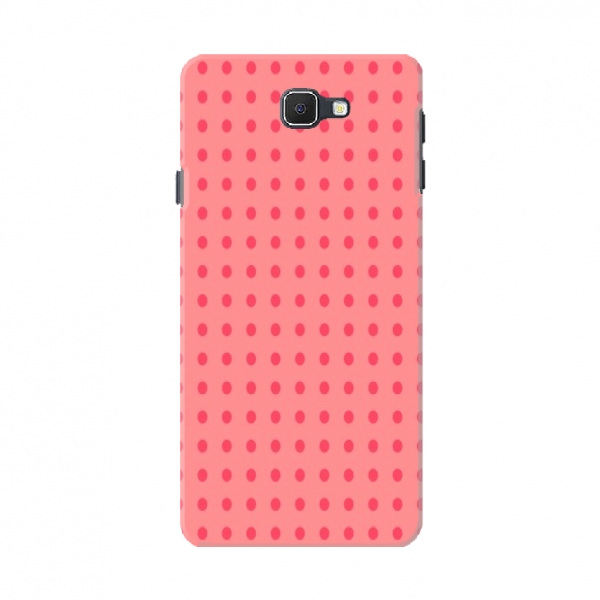 Pink Dotted Straight Line