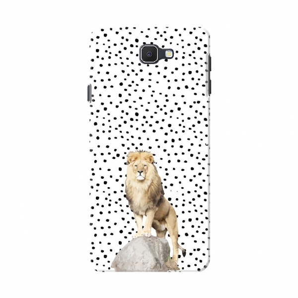 Dotted Lion Print