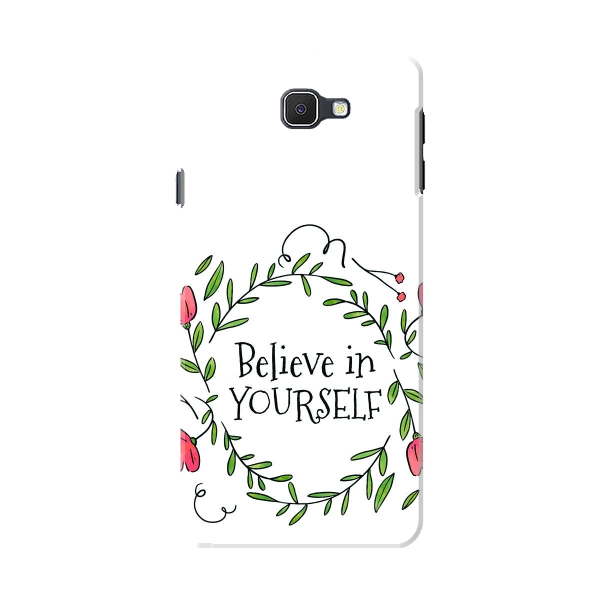 Cute Floral Ornaments With Quote