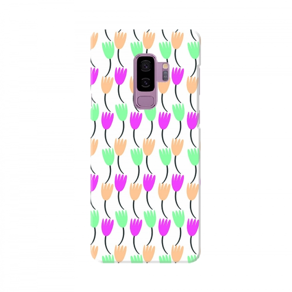 Dark Colourful floral Pattern