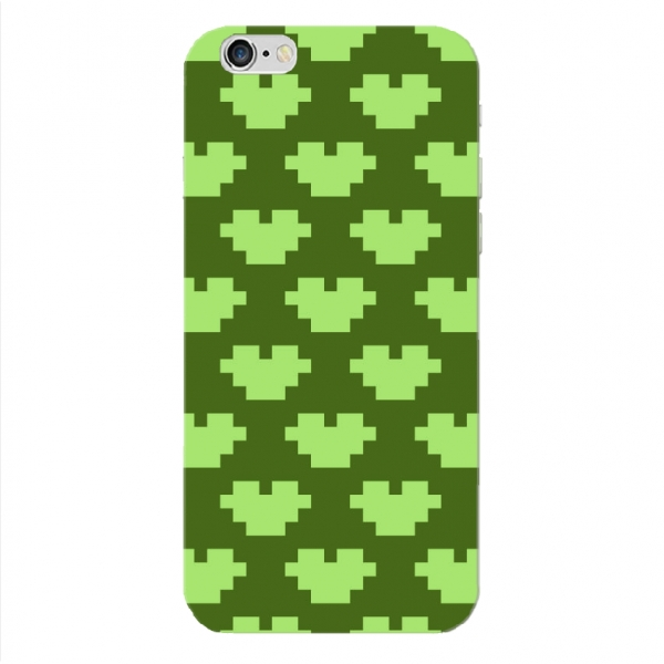 Olive Green Pxel Pattern Set04