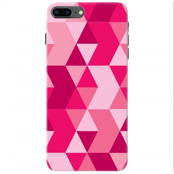 Dark Light Pink Polygon