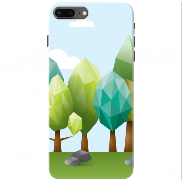 Poly Forest Illustration