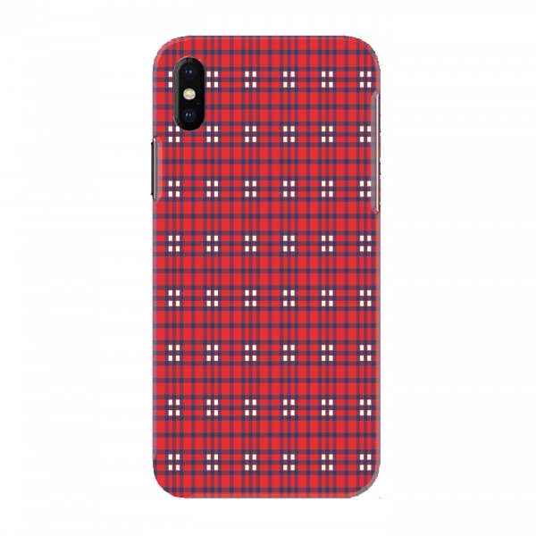 Red Black Checked Pattern