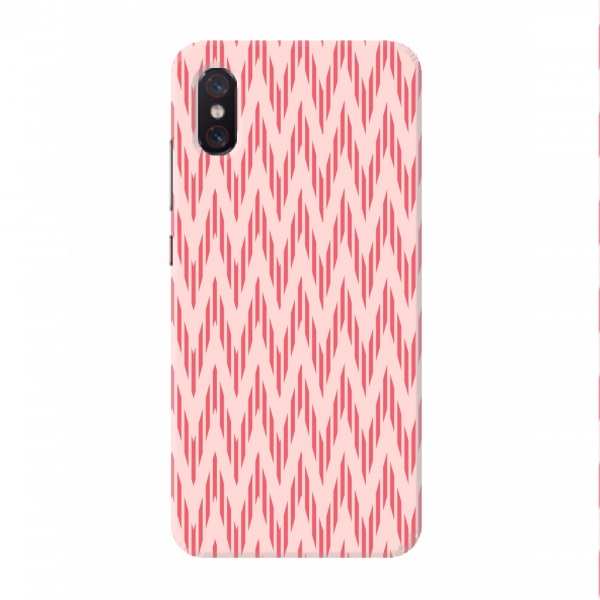 Light Pink Mountains Pattern