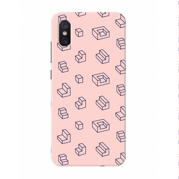 Wrapper Pattern With Pink Background