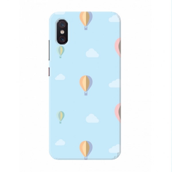 Clouds And Balloons Pattern