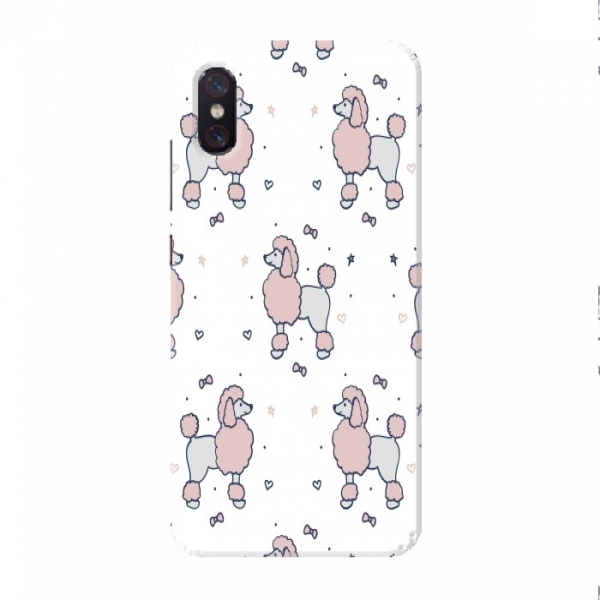 Girly Poodle Pattern