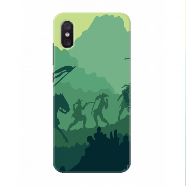 Green Cavalry Background