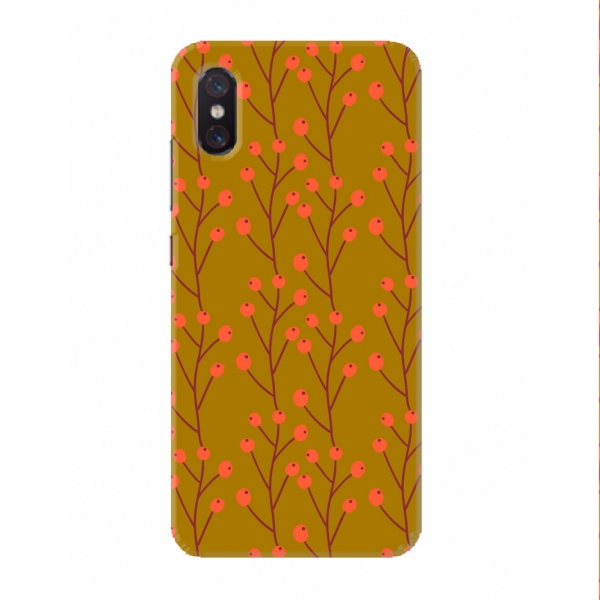 Orange Floral Pattern Set02