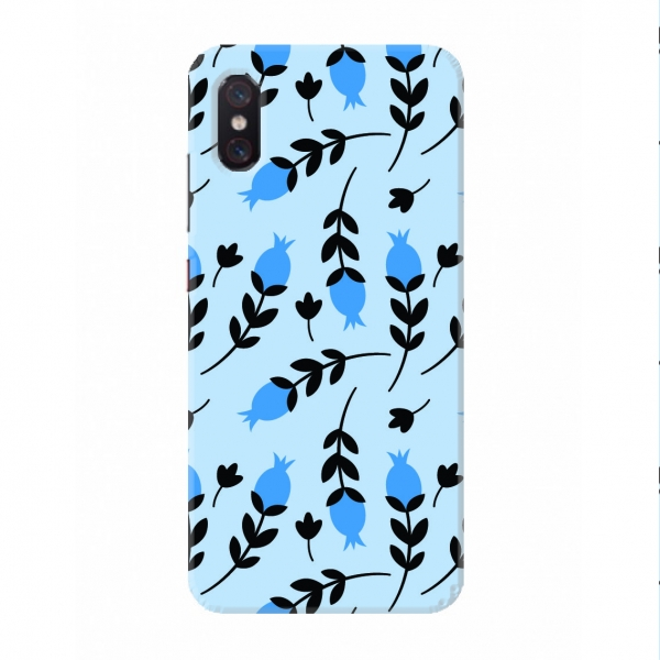 Purple And Blue Floral Pattern set06