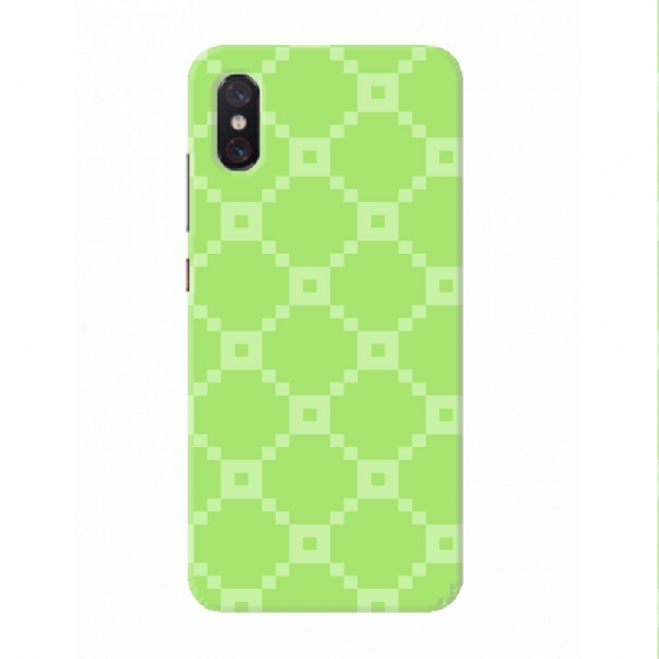 Olive Green Pxel Pattern Set02