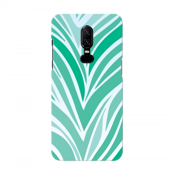 Green White Zebra Pattern