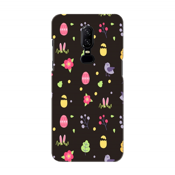 Easter Black Pattern