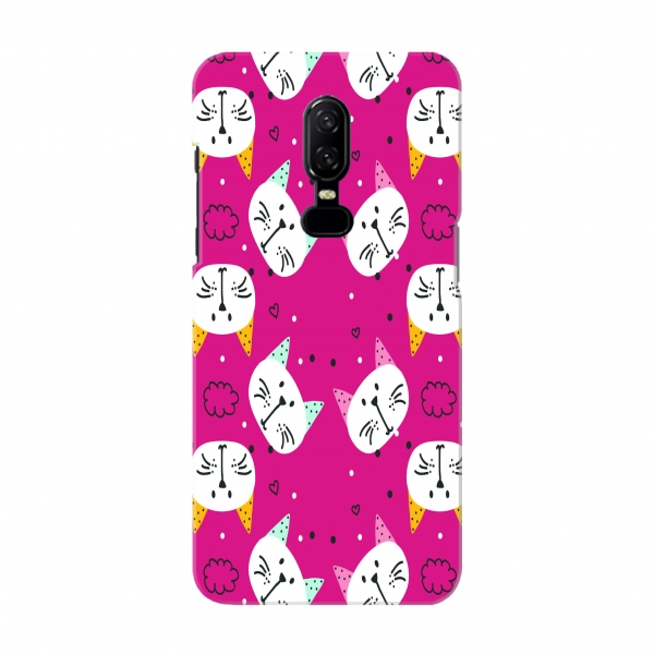 Pink Cats Pattern