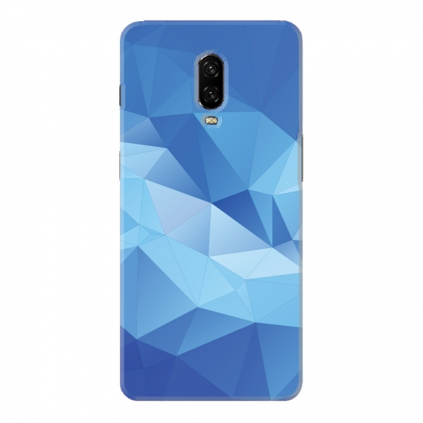 Blue Polygonal Abstract