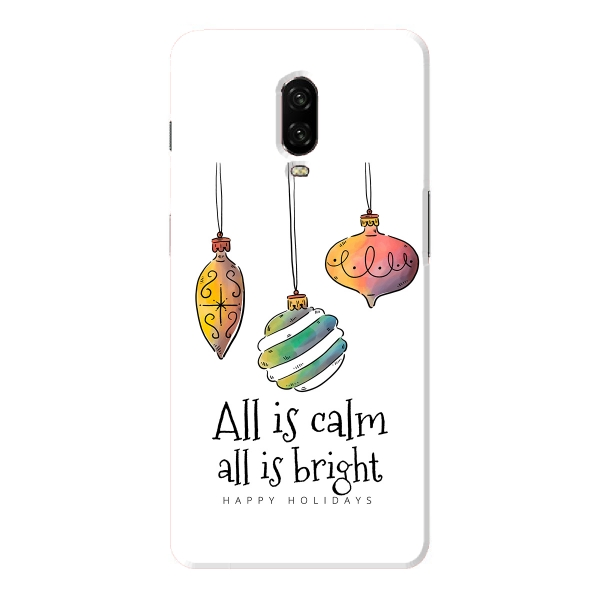 All is Calm All is Bright Christmas Ornament