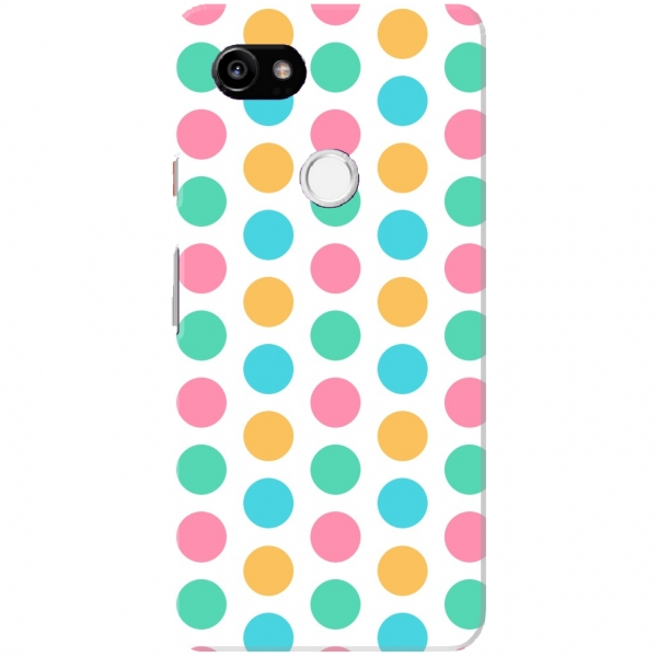 Colourful Large Polka Dots