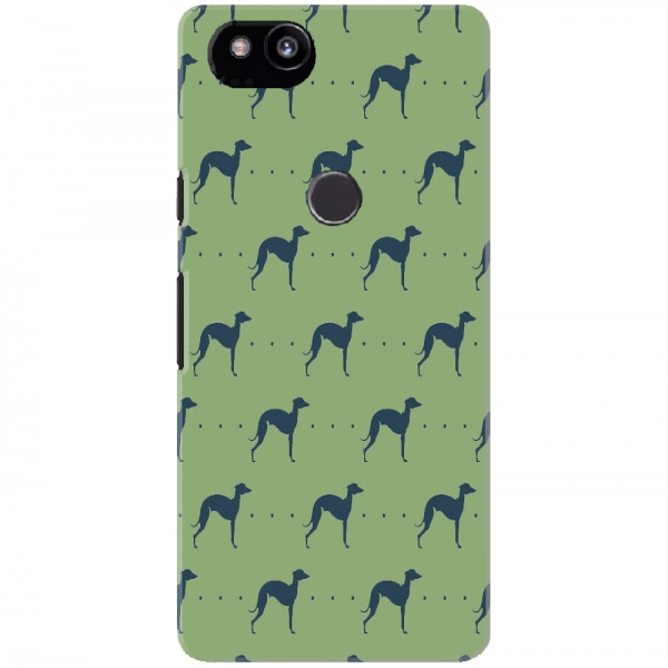 Repeating Whippet Dog Icon Pattern03