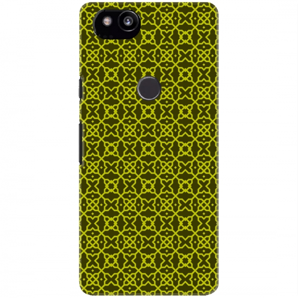 Green Geometric Pattern Set04