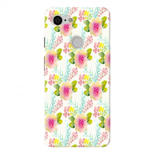 Painted Floral Pattern