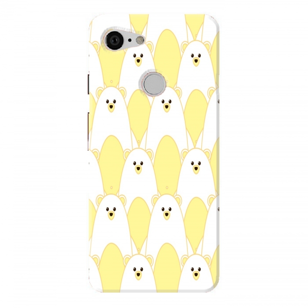 Yellow Bear Pattern
