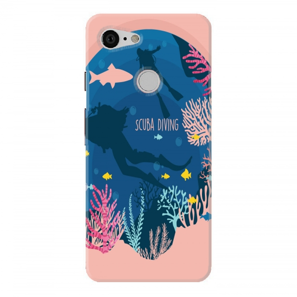Scuba Diving Pink Color