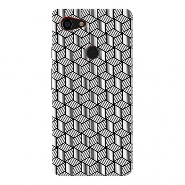 Black And White Cube Pattern