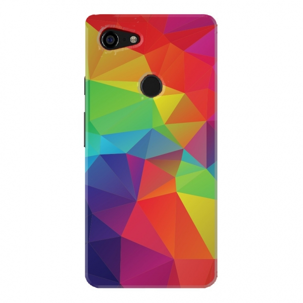 Rainbow Polygonal Pattern