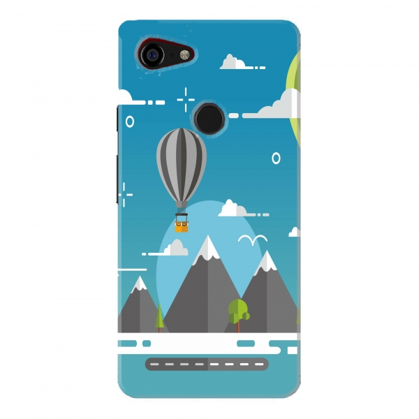 Parachute And Mountains