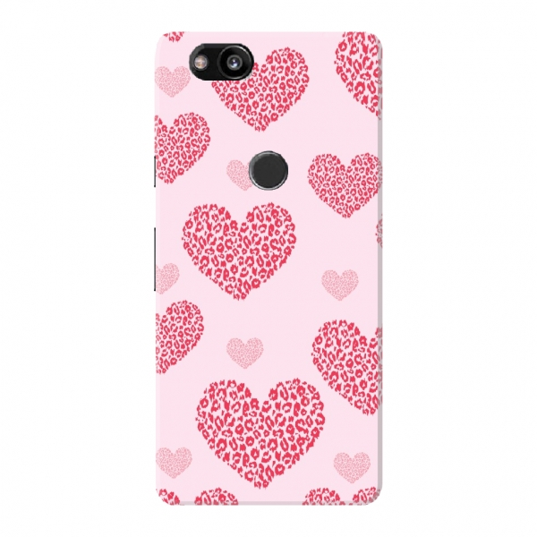 Heart Leopard Pattern