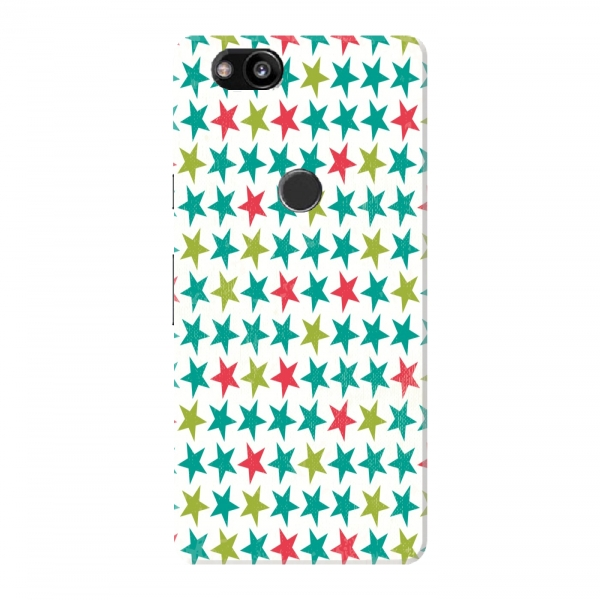 Multicoloured Stars Inline Pattern