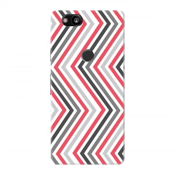 Pink Black Grey Zigzag Pattern