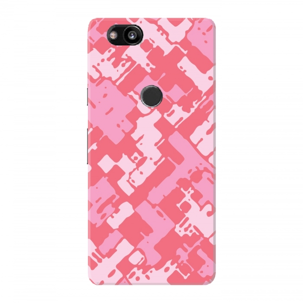 Pink White Red Camouflage