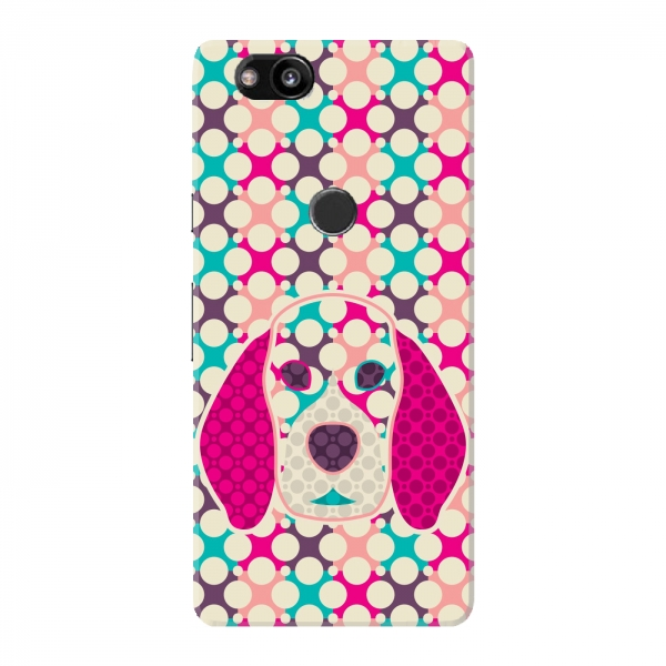 Colourful Dark Dog Pattern