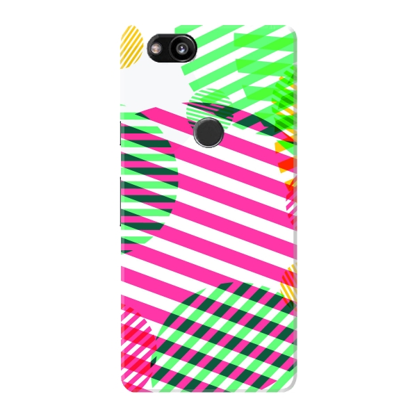 abstract colorful circles stripes