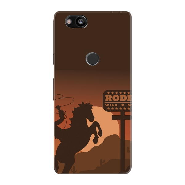 Rodeo Silhouette