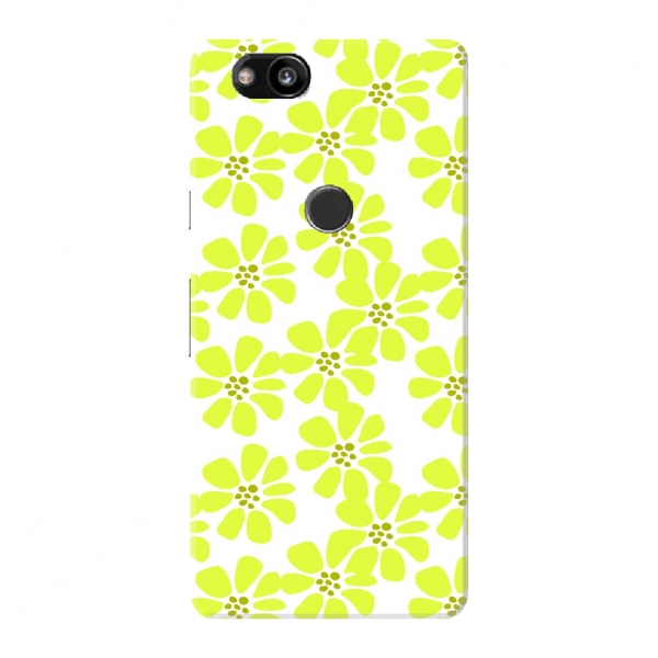 Yellow Floral Pattern02