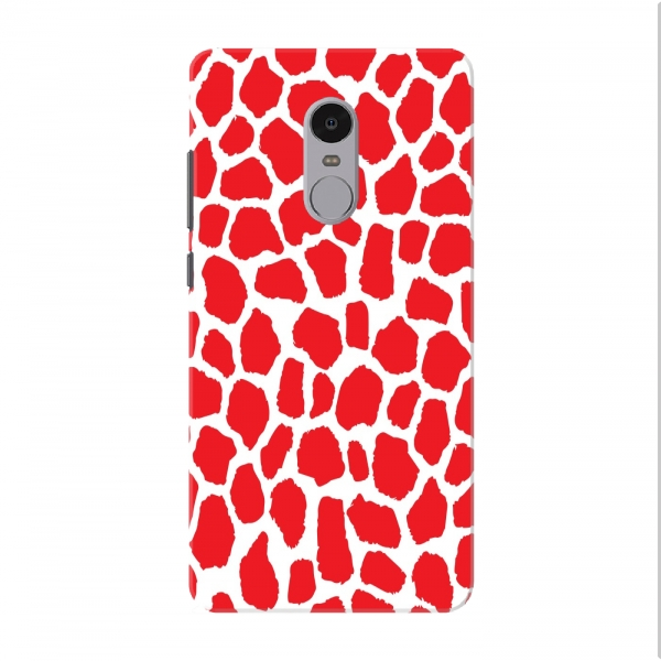Red Leapord Spots Pattern