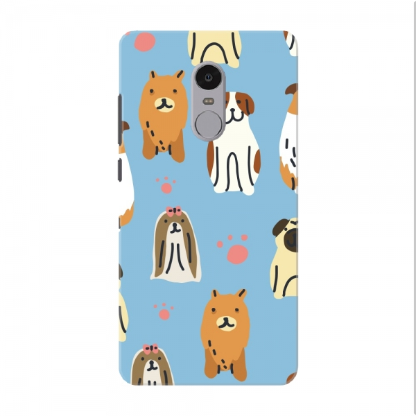 Blue Dogs Pattern