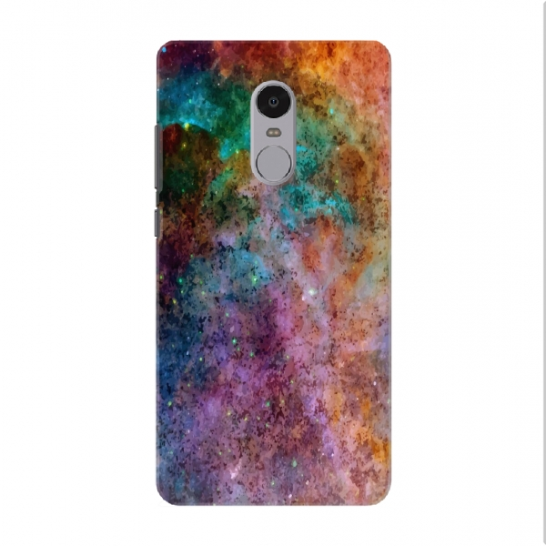 Watercolored Outer Space Texture