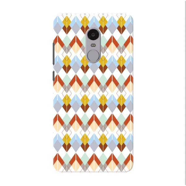 Colourful Argyle Geometric Pattern