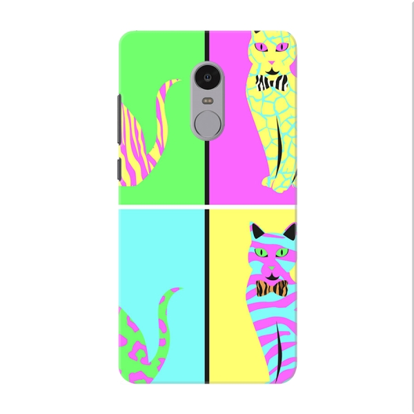 Cat Pop Art multicoloured