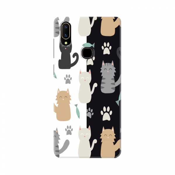 Black And White Cat Pattern