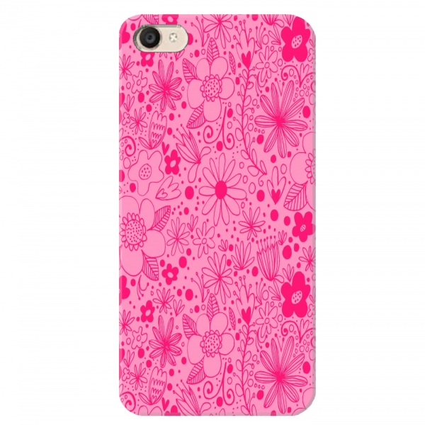 Pink Floral Beautiful Print