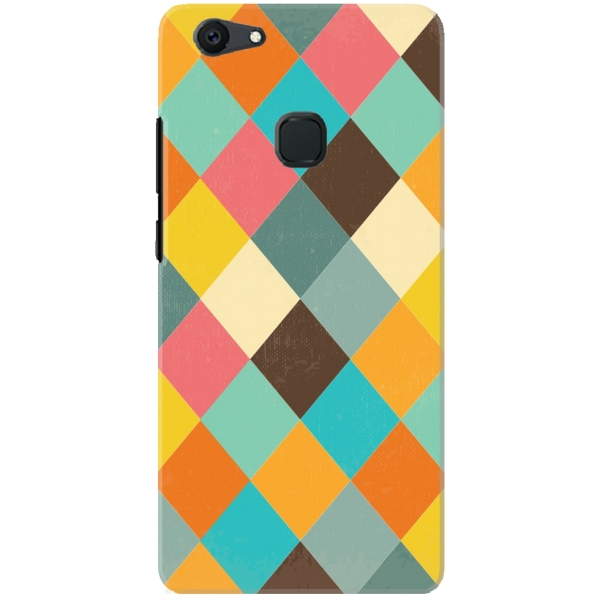 Colourful Diamond Shape Pattern