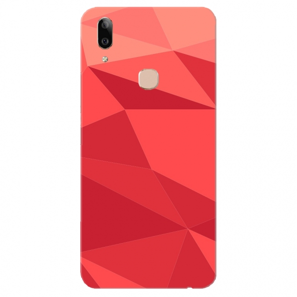 Red Polygonal Vector